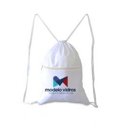 Mochila Saco Poliéster com bolso - AL227
